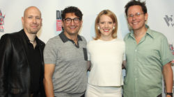 At Dances With Films with composer Chris Wirsig, casting director Michael LaPolla, and star Nina Rausch